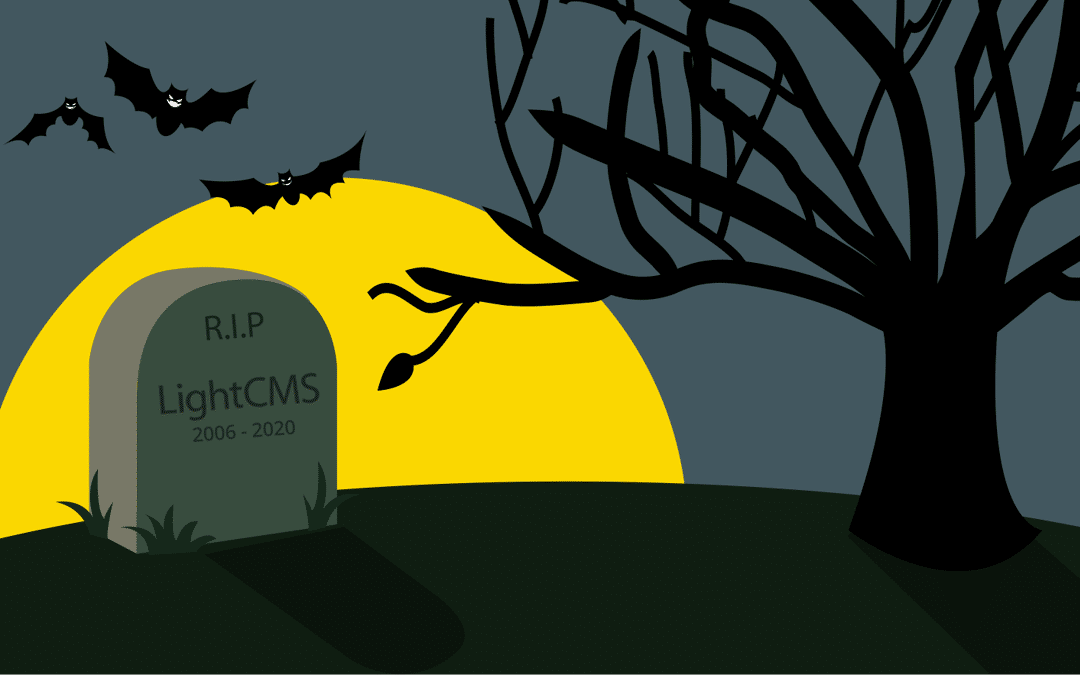 How does the LightCMS End of Life affect my website reseller business?